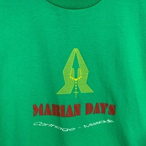 Vintage Marian Days Catholic Single Stitch Shirt